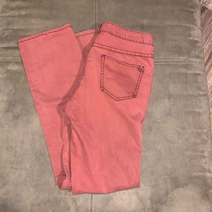 Pilcro and Letterpress skinny jeans size 29